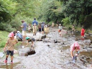 川遊び教室